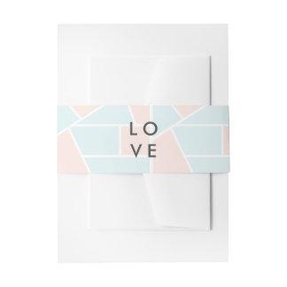 Cintas Para Invitaciones M en colores pastel
