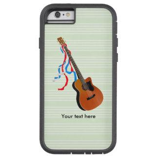 Cintas patrióticas de la guitarra baja de Acoutic Funda Tough Xtreme iPhone 6