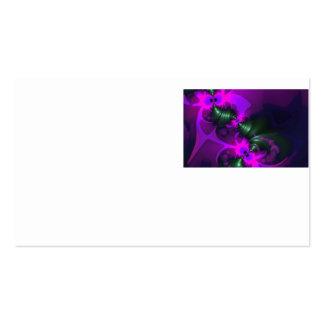 Cintas violetas y magentas del Imp púrpura - Tarjetas De Visita