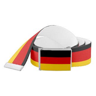 Cinturón Bandera alemana patriótica