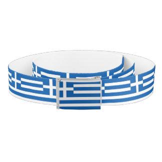 Cinturón Bandera de Grecia