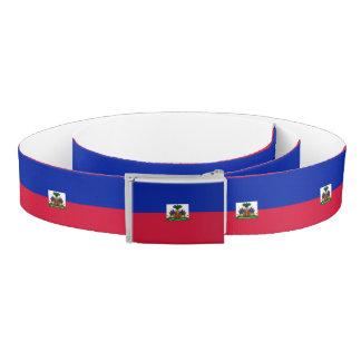 Cinturón Bandera de Haití