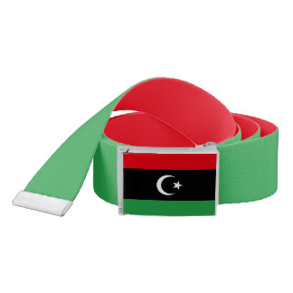 Cinturón Bandera de Libia