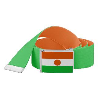 Cinturón Bandera de Niger