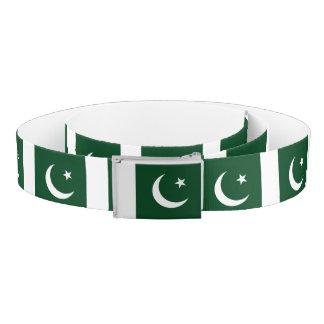 Cinturón Bandera de Paquistán