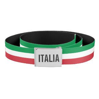 Cinturón Bandera italiana con el monograma de encargo -