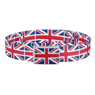 Cinturón Bandera real BRITÁNICA de Gran Bretaña Union Jack