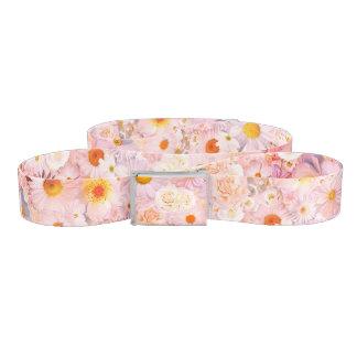 Cinturón El rosa florece la primavera nupcial del boda