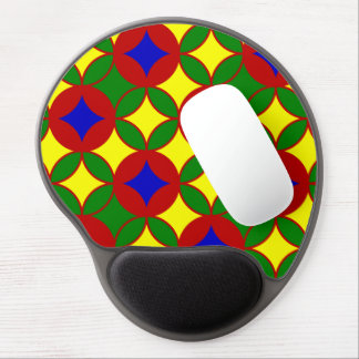 Circles-02-GEL primario MOUSEPAD Alfombrilla Gel
