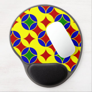 Circles-03-GEL primario MOUSEPAD Alfombrilla Gel