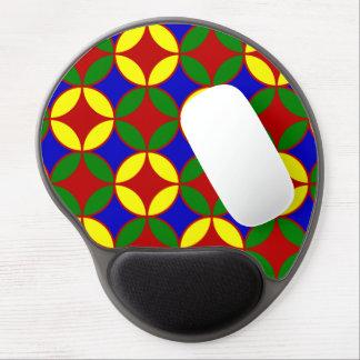 Circles-04-GEL primario MOUSEPAD Alfombrilla Gel