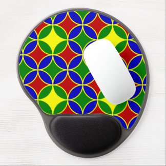 Circles-05-GEL primario MOUSEPAD Alfombrilla Gel