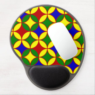 Circles-06-GEL primario MOUSEPAD Alfombrilla Gel