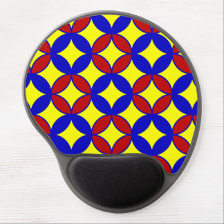 Circles-08-GEL primario MOUSEPAD Alfombrilla Gel