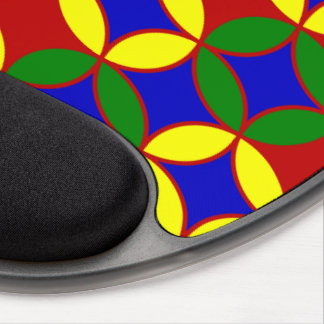 Circles-09-GEL primario MOUSEPAD Alfombrilla Gel