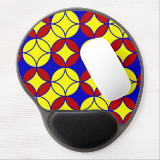 Circles-10-GEL primario MOUSEPAD Alfombrilla Gel