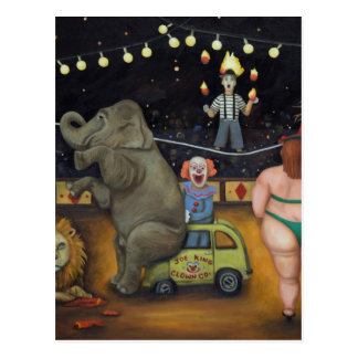 Circo de la pesadilla postal