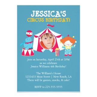 Circo Invitación