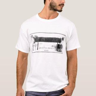 Círculo 1955 de la muestra de la playa de Grayton Camiseta
