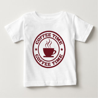 Círculo Borgoña del tiempo del café A251 Camisas