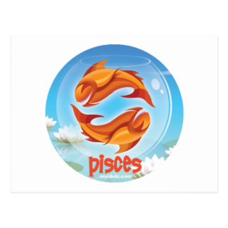 Círculo de Idolz Piscis Postales