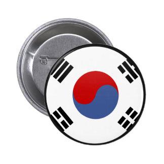 Círculo de la bandera de la calidad de la Corea de Pins