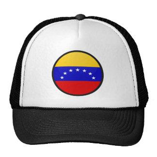 Círculo de la bandera de la calidad de Venezuela Gorro