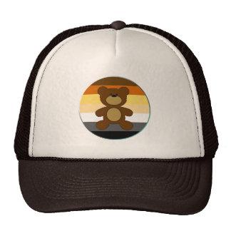 Círculo de la bandera del arco iris del orgullo gorra