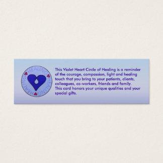 Círculo de la cura - tarjeta del perfil del