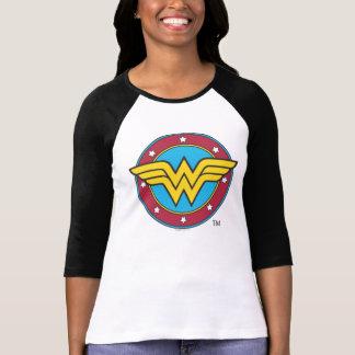 Círculo de la Mujer Maravilla el | y logotipo de Camiseta