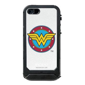 Círculo de la Mujer Maravilla el | y logotipo de Funda Para iPhone 5 Incipio ATLAS ID