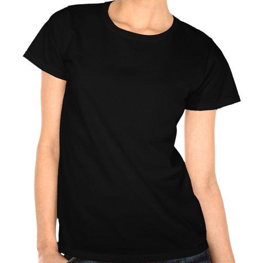 Círculo de la Mujer Maravilla y logotipo de las es Camiseta