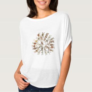 Círculo de libélulas camiseta