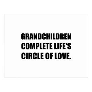 Círculo de los nietos del amor postal