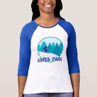 Círculo del esquí del parque de Estes Camisetas