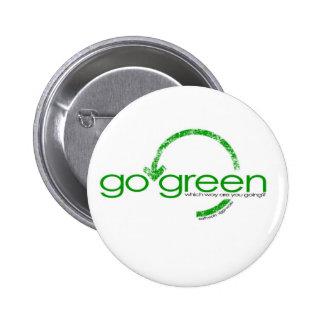 Círculo del verde pin