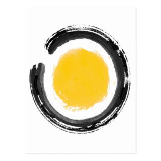 Círculo del zen postal