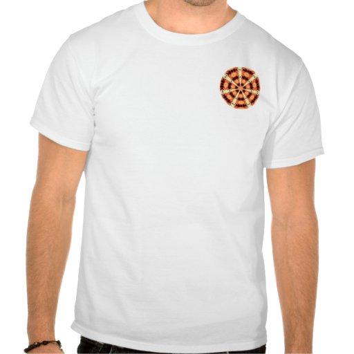 Círculo hawaiano camiseta