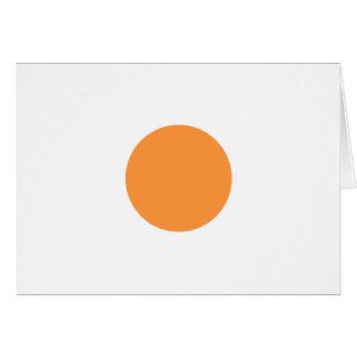 Círculo P amarillo 1495 Trans-2 el MUSEO Zazzle Tarjeta De Felicitación