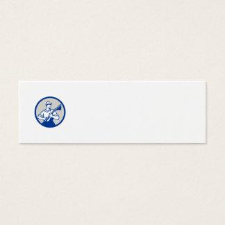Círculo profesional del vacío del limpiador de la tarjeta de visita mini