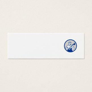 Círculo profesional del vacío del limpiador de la tarjeta de visita pequeña