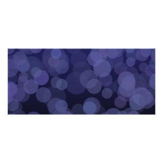 Círculos azules abstractos plantillas de lonas