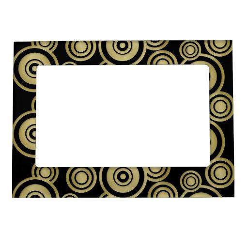 círculos del oro marcos magneticos