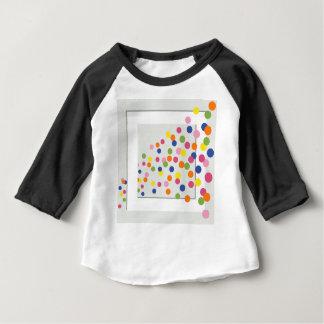 Círculos enmarcados camiseta de bebé