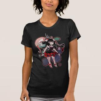 Círculos góticos del chica de Lolita Camiseta