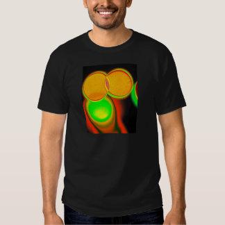 Círculos psicodélicos geométricos camisetas