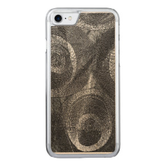 Círculos y más círculos funda para iPhone 8/7 de carved