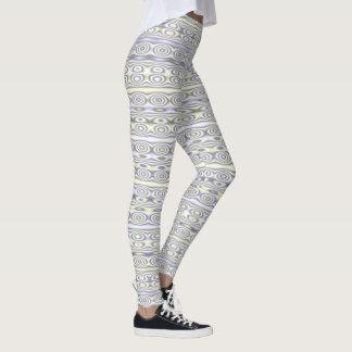 Círculos y rayas leggings