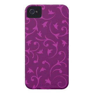 Ciruelos barrocos del diseño iPhone 4 coberturas