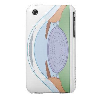 Cirugía correctiva para la miopía Case-Mate iPhone 3 funda
